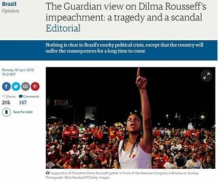 print the guardian golpe impeachment