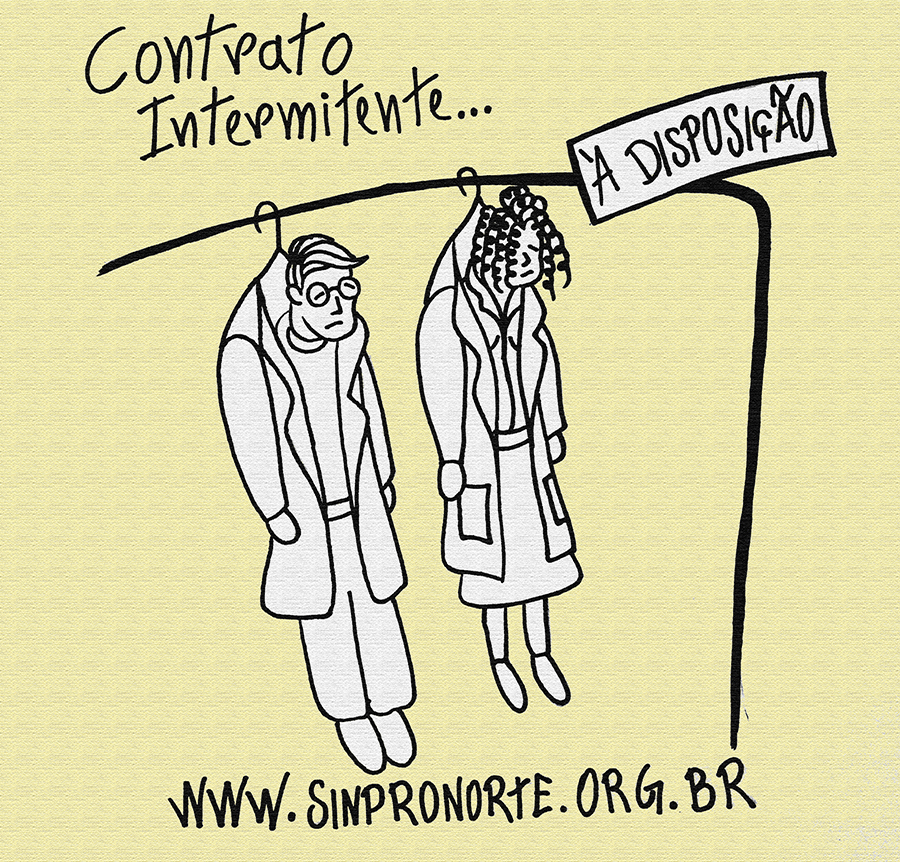 Sinpronorte A Nulidade Do Contrato Intermitente Para Professor